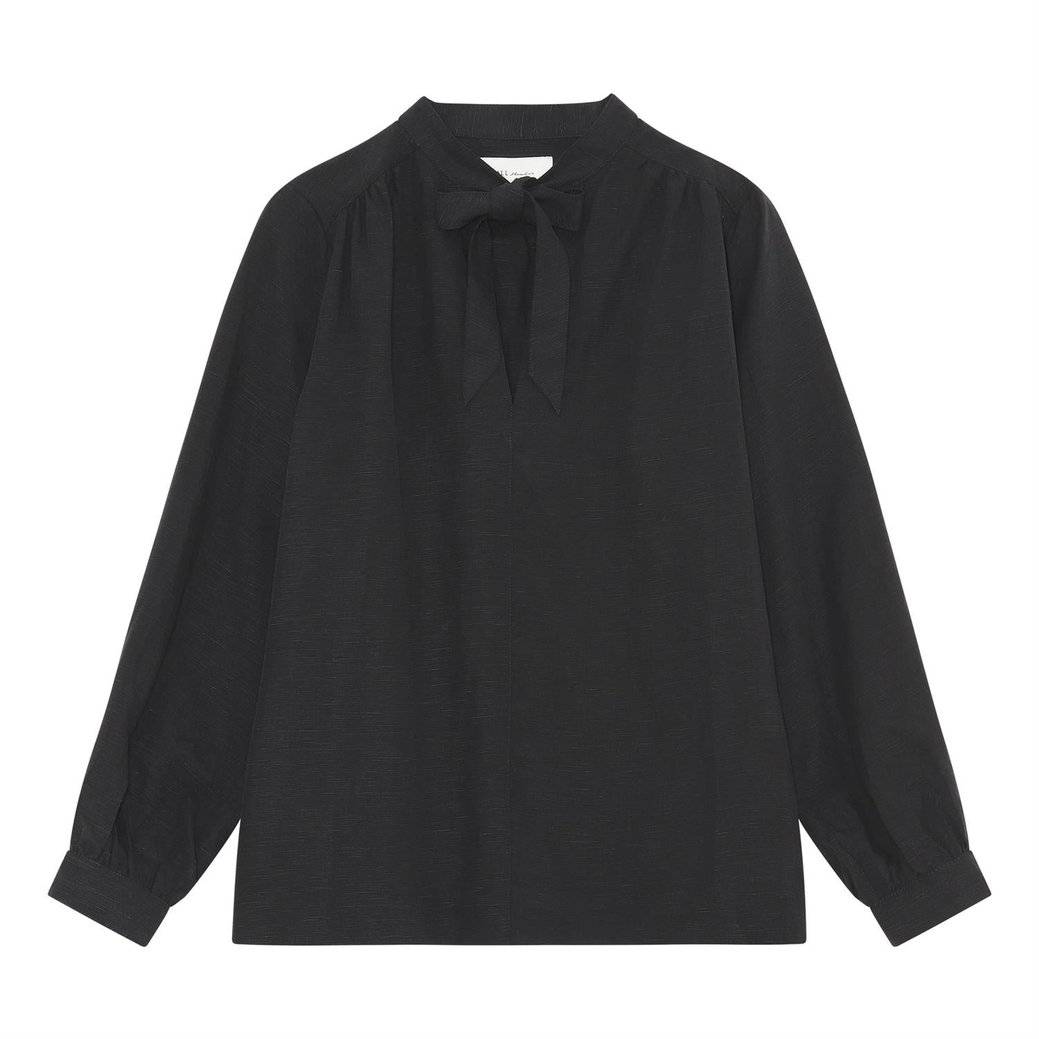 Sille tunic blouse - black
