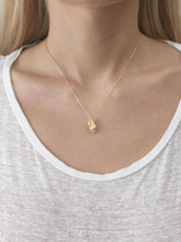 Floating shell necklace