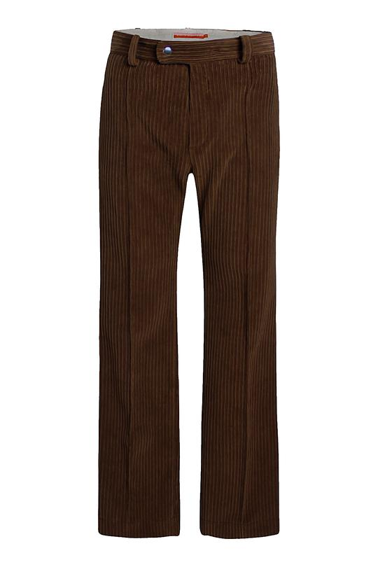 Kune cord pants - coffee
