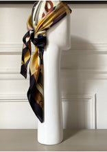 Silk twill scarf - Paris Californie