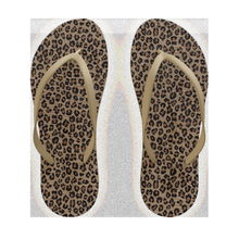 Slim Natural Rubber - small leopard