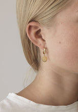 True love hoop earrings