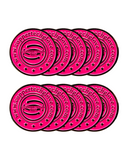 Fuchsia Replacement Ball Markers