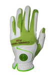Copper Infused Golf Glove White/Lime