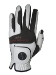 Copper Infused Golf Glove White/Black