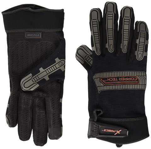 Copper Infused Workman/Mechanic Gloves - MASTER (PAIR)