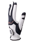 Copper Tech Golf Glove, White/Black, 2-Pack