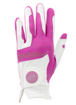 Copper Tech Golf Glove, White/Fuchsia, 2-Pack (Women)