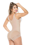 Molding Body Shaper with High Back