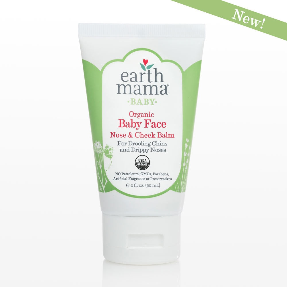Earth Mama - Baby Face Organic Nose & Cheek Balm