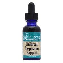 Load image into Gallery viewer, Children's Respiratory Support Organic Herbal Tincture