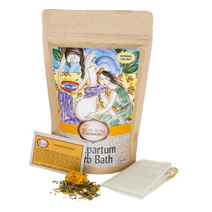 Postpartum Herb Bath for Mom and Baby