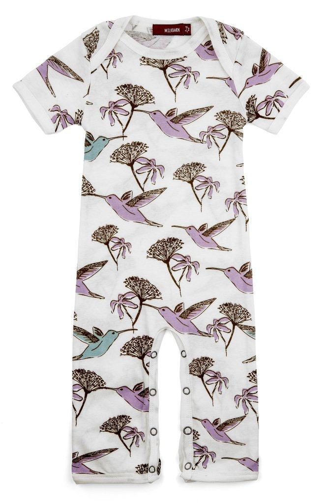 Short-Sleeve Romper *discontinued prints*