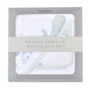 Hooded Towel & Washcloth Set *click for options*