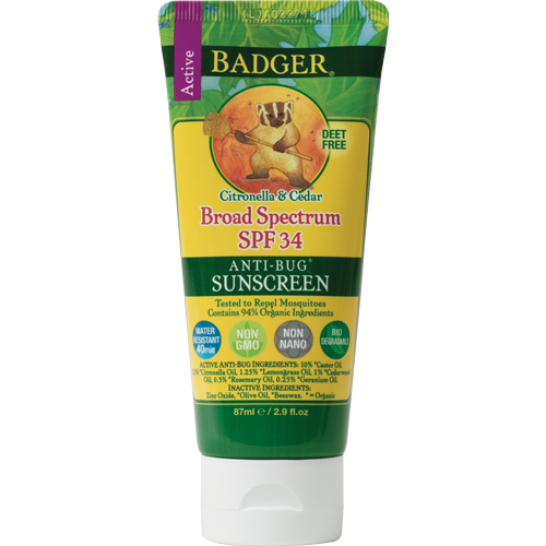 Badger Sunscreen Bug Repellent