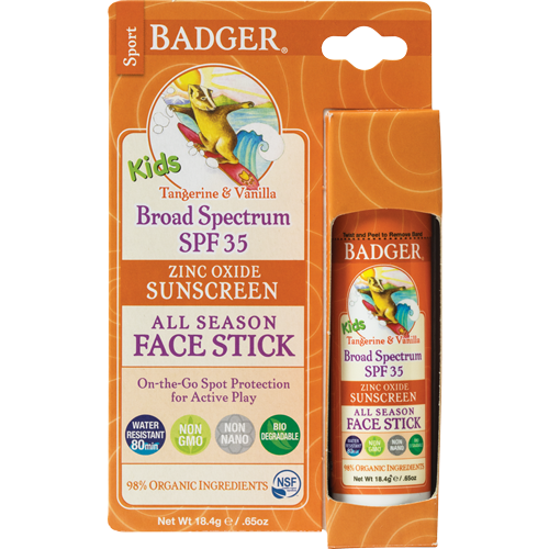 Badger Kids Face Stick SPF35