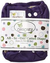 Load image into Gallery viewer, OsoCozy All In One Cloth Diaper *click for options*