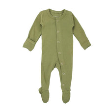Load image into Gallery viewer, Organic Cotton Footed Overall *click for options*