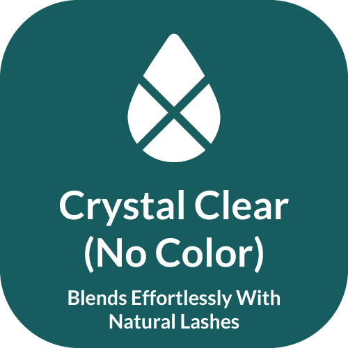 Beau Lashes Crystal Clear Pro+ Eyelash Extension Glue Clear Transparent Color