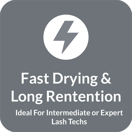 Beau Lashes Ultra Sensitive Pro+ Eyelash Extension Glue Fast Drying Time And Long Retention