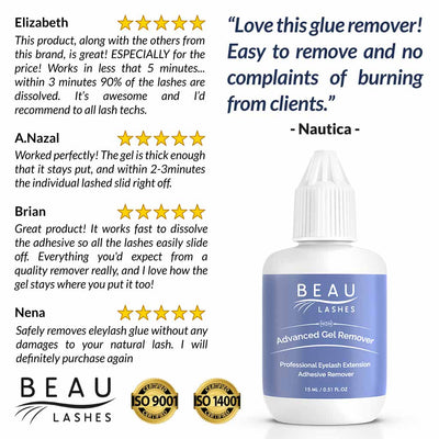 Beau Lashes Advanced Gel Remover Eyelash Extension Remover Reviews