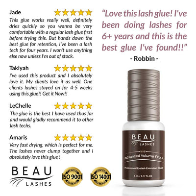 Beau Lashes Advanced Volume Pro+ Eyelash Extension Glue Reviews