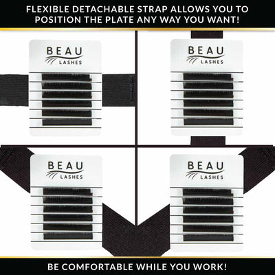 Beau Lashes Eyelash Extension Hand Lash Holder Palette Adjustable Strap