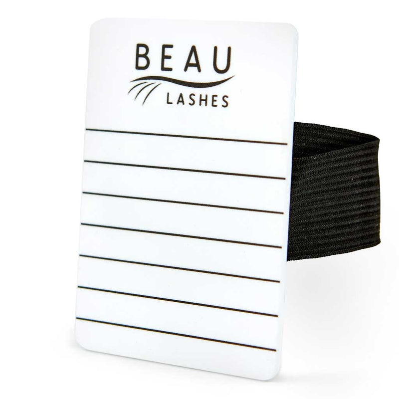 Beau Lashes Eyelash Extension Hand Lash Holder Pallet On Hand With Lashes