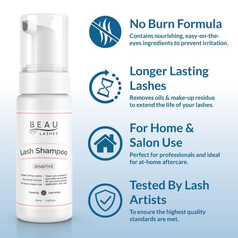 Sensitive Lash Cleanser