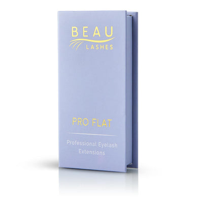 Beau Lashes Pro Flat Eyelash Extensions Box C Curl