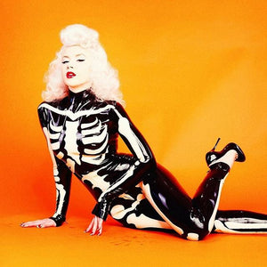 The Skeleton Latex Catsuit - BIZARRE FETISH COUTURE