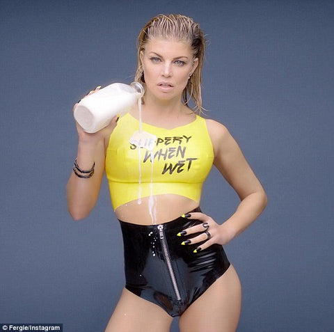 "The Fergie ""Slippery When Wet"" Latex Outfit - BIZARRE FETISH COUTURE"