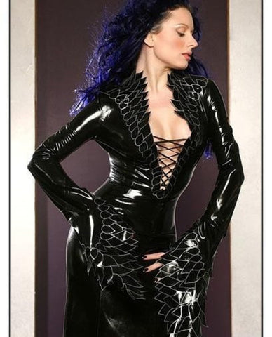 Dragonness Latex Gown