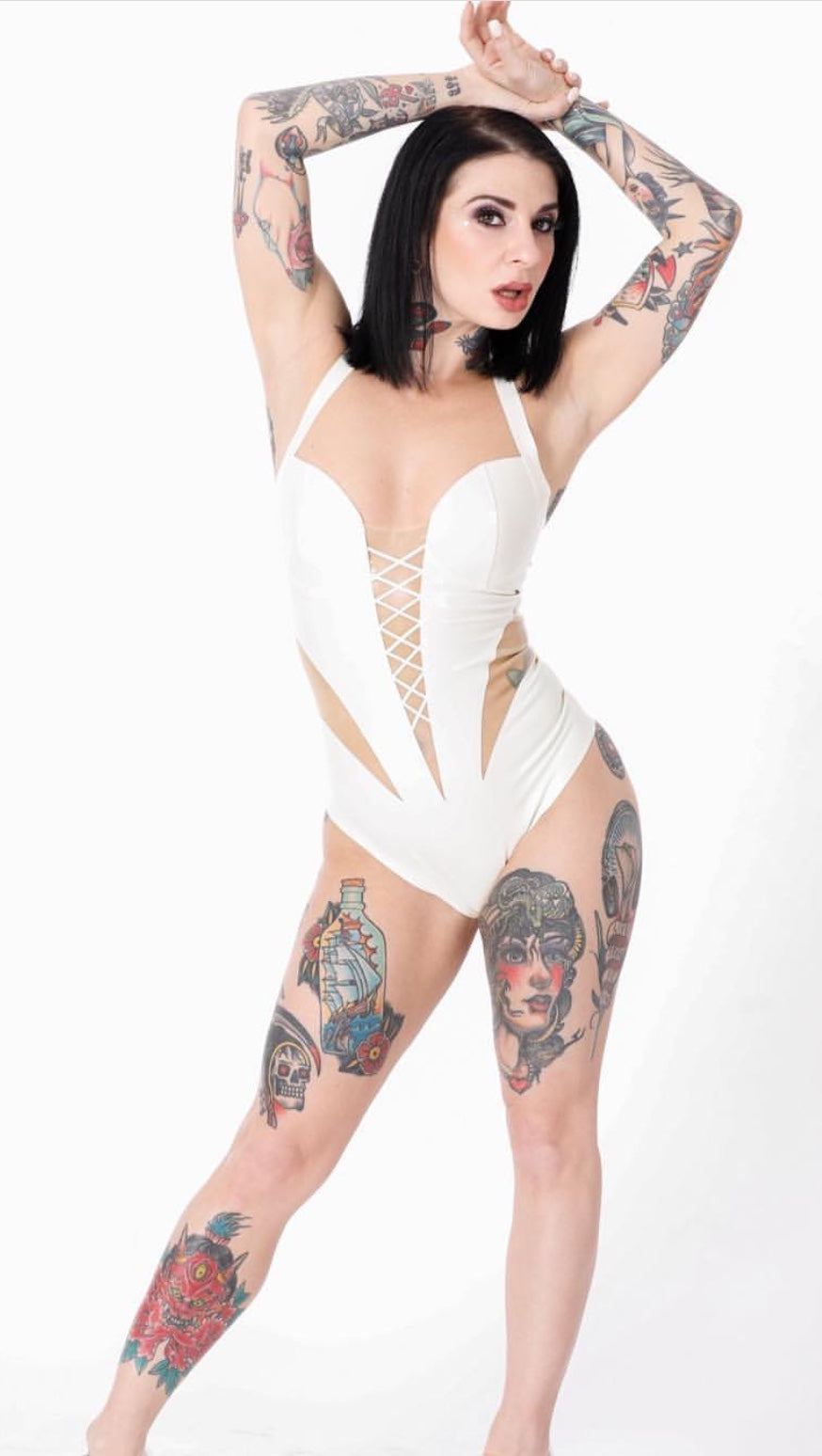 The Latex Angel Bodysuit