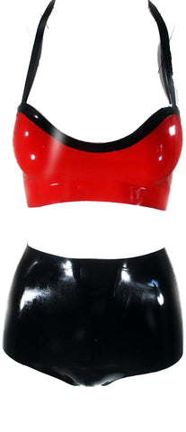 The Bowling Alley Latex Bikini