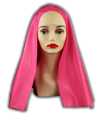 Bright Latex Nun Habit