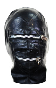 Latex DAYT (do as you're told)  Zip Mask