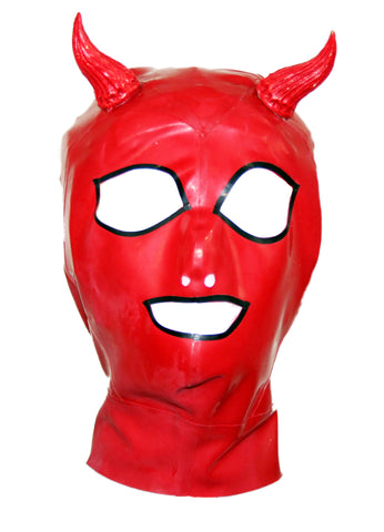 Red Devil Latex Face Mask