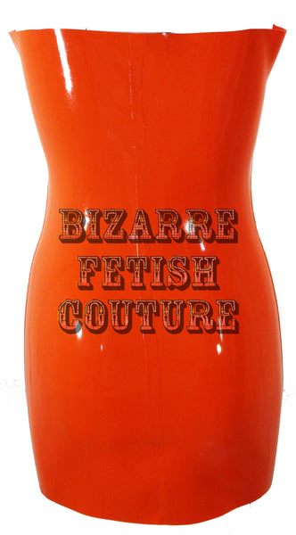 The Egg Yolk Latex Apron - BIZARRE FETISH COUTURE
