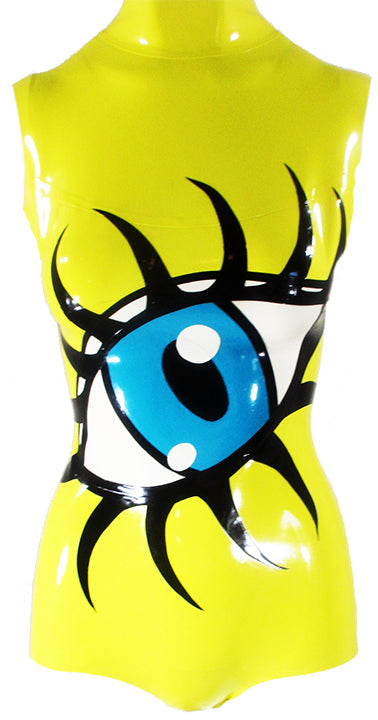 Eyeball Latex Bodysuit