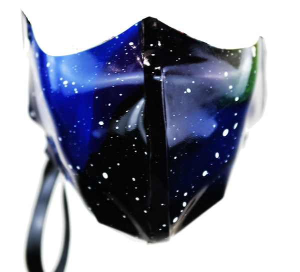 Custom Hand Poured Galaxy Latex Nose & Mouth Face Mask