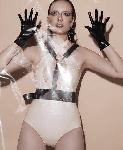 Wrist Length Latex Gloves