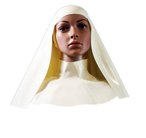 Basic Latex Nun Habit w/ Neck Corset
