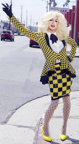 The Taxi Cab Confession Latex Outfit