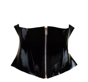 Men's Heavy Rubber Latex Corset
