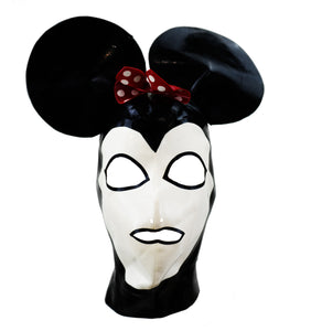Minne Mouse Latex Face Mask