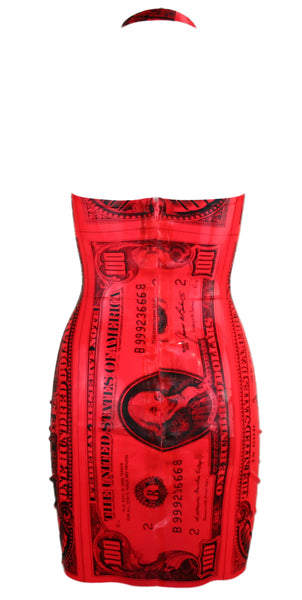 Tonic Blood Money Latex Mini Dress