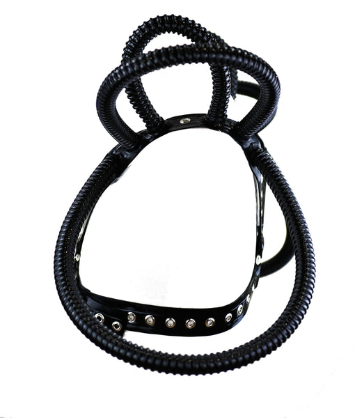 Neptune Shoulder Ring Latex Chest Harness