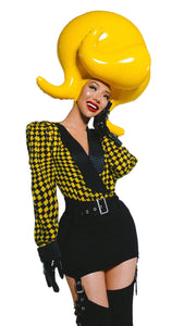 Yellow Marilyn Wig