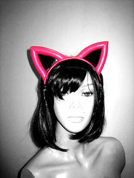 Kitty Ear Head Band - BIZARRE FETISH COUTURE